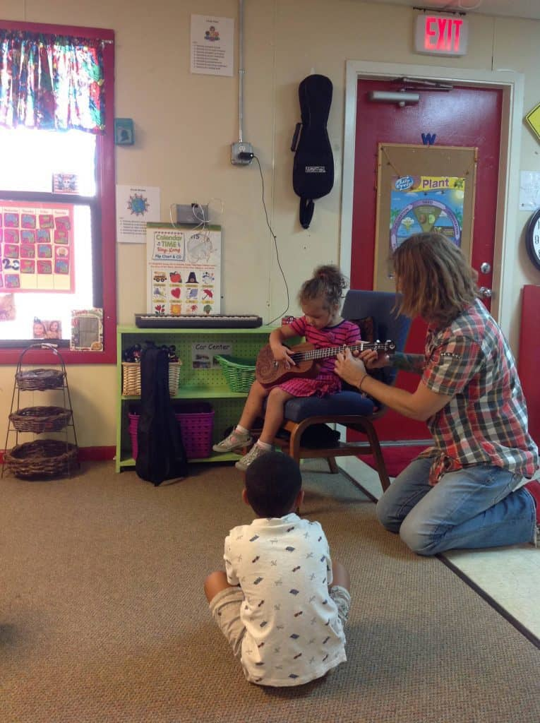Music at Happy Bunnies Child Care